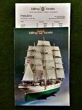 Billing Boats - Schiffsmodellbau - Katalog von 1984
