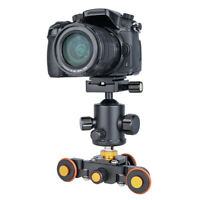 DSLR Camera Track Slider Electric Dolly Motorised Video Car Stabilizzatore