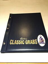RARE CADBURY CLASSIC GRABS FOLDER COMPLETE WITH 1998 & 1999 CARDS