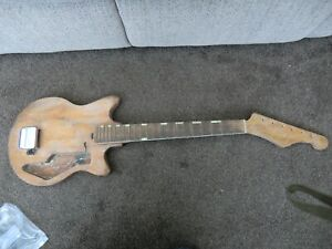 Vintage 60s Starway  electric guitar made in Japan  spare/repairs/ project