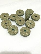 """Cork Rings 12 Superior Green Burl 1 1/4"""" x 1/4"""" x 1/4"""", Excellant Quality!"""