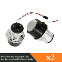 2pcs 2.5 Inches Bi-xenon HID Projector Lens For H11 Fog Lights Fit Toyota Camry