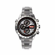 Fila 38-007-002 Men's Chronograph Silver Stainless Steel Quartz Watch - RRP £199