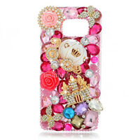 For Samsung Note 8 Luxury Bling Diamond Rhinestone Crystal Jewelled Case Cover
