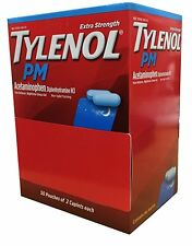 Tylenol P.M 10 Pouches of 2 Caplets each Extra Strength (500mg) Prepper Bug Out