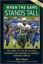 Neil Hayes - When The Game Stands Tall  - New Trade Paper Special movie edition