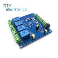 4-ch Modbus-RTU Relay Switch Module Signal input output RS485 TTL ControllerL2KD