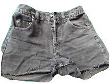 Authentic  Black Levis Jeans Shorts