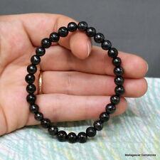 6 mm Round Beads Shungite Schungite Stretch Bracelet Anti Radiation Russia