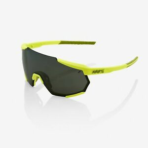100 Percent Cycling Racetrap Sunglasses - Soft Tact Banana