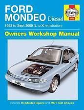 Haynes Manual Ford Mondeo Diesel 1993 - 1996 L to N Registration 3465