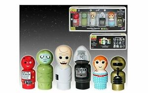 The Twilight Zone Pin Mate Wooden Figure Set of 6 - SDCC Exclusive LE Numbered