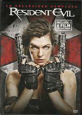 RESIDENT EVIL - la collezione completa BOX 6 DVD