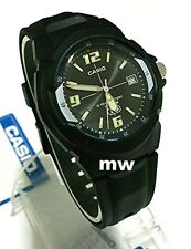 NEW Casio Men's Watch MW600F-1A 10 YEAR Battery 100M Black Resin Analog Quartz