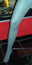 Esprit 18452 - Strick / Strumpfhose / Tights - 40-42 - Grau / Hellgrau 3390  NEU