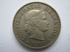Switzerland 1879 5 Rappen GEF