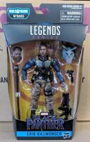 Marvel Legends Erik Killmonger Tactical Military Black Panther Wave 2 BAF M'Baku