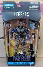 Marvel Legends Erik Killmonger Tactical Military Black Panther Wave 2 BAF M'Baku