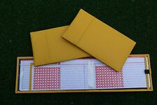 Miclub Yellow leather golf autoscore card holder - Original and still the Best