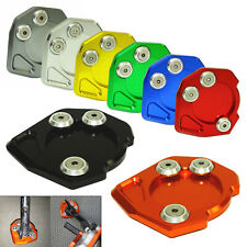 CNC Kickstand Side Stand Extension Pad For KTM RC Duke 125 200 390 690 950 990