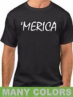 Merica #2 T Shirt Tee Americana USA Pride Patriotic T-Shirt Labor Day Holiday