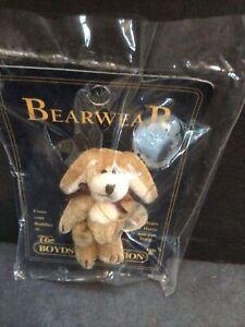 NEW! The Boyd's Collection Bearwear 20th Anniversary Teensy-Tiny Teddy Bear Pin