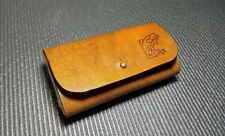 Fly Fishing Leather Wallet, Streamer Wallet