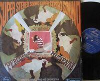 DAVID CARROLL & HIS ORCHESTRA - Percussion Parisienne ~ VINYL LP DUTCH PRESS