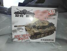 PLASTIC TANK SELF ASSEMBLING KIT /  TIGER  / SCALE 1:72 / NEW