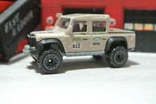 Hot Wheels Loose - '15 Land Rover Defender Double Cab - Tan - 1:64 Hot Trucks