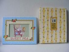 """Mary Engelbreit Picture Frame 4 x 6 """"Sweet Pea"""" Baby Room Decor Lovey Dovey New"""