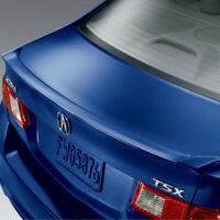 Genuine OEM Acura RL Deck Lid Lip Rear Trunk Spoiler Opulent Blue Pearl