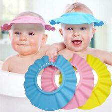 Healifty Bath Shampoo Cap Adjustable Baby Shower Hat for Toddler Kids 3pcs