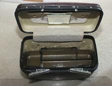 Vintage SAMSONITE Travel Makeup Train Vanity Cosmetic Case ~ Tray Mirror Keys