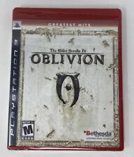 The Elder Scrolls IV: Oblivion (Sony PlayStation 3, 2007) PS3 New Sealed