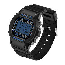 Vintage Sport Men Digital Army Watch Waterproof Military Army Date Wristwatch