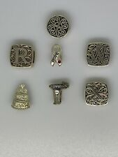 Lori Bonn Sterling Silver Lot of 7 Charms Slides Most Retired