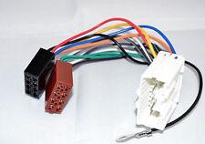 ISO DIN Radioadapter Stecker Kabel  Kabelbaum auf 16 pol MITSUBISHI 1996-2006