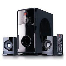 beFree Sound 2.1 Channel Surround Sound Bluetooth Speaker System New