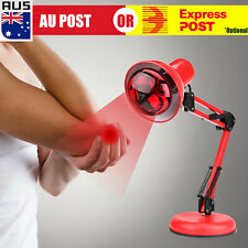 Infrared Red Heat Light Therapeutic Therapy Lamp Pain Relief Floor Stand 220V O