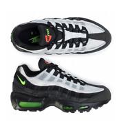 "Nike Air Max 95 Essential ""Antifreeze"" Men's SZ 9.5 Black Green [AT9865 004]"