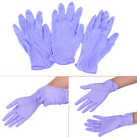 5 Paare wegwerfbare blaue Nitril-Handschuhe medizinische Tätowierung liefert Fw