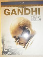 GANDHI FILM IN BLU-RAY NUOVO DA NEGOZIO INCELLOFANATO-SPEDIZ.4,90 FINO A 20 FILM