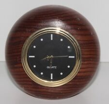 Tasmanian Blackwood Timber Desk Clock (DG-125)