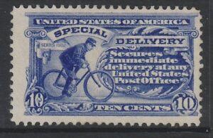 USA - 1911,10c Ultramarinblau Spezial Lieferung Briefmarke - Mint Ungummiert -