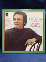 Christmas With Johnny Mathis Vinyl  LP Columbia Limited Edition Vintage 1971