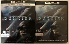 DUNKIRK 4K ULTRA HD BLU RAY 3 DISC SET + SLIPCOVER SLEEVE FREE WORLD SHIPPING