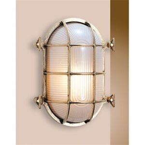 Wall Turtle Inside Outer Brass Shiny With Shade Sandblast Naut