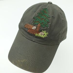 Outdoors Forest Woods Tree Ball Cap Hat Adjustable Baseball Adult