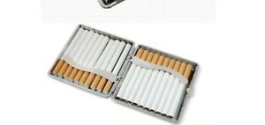20 Loaded Pocket Cigarette Case Tobacco Cigar Storage Box Holder Container